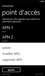 Nokia Lumia 820 LTE - Internet - Configuration manuelle - Étape 20