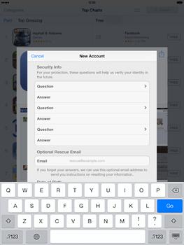 Apple iPad mini iOS 7 - Applications - Downloading applications - Step 14