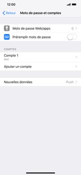 Apple iPhone XR - E-mail - Configuration manuelle - Étape 17