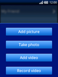 Sony Ericsson Xperia X10 Mini - Mms - Sending a picture message - Step 7