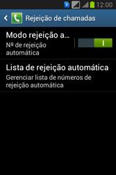 Samsung S6293T Galaxy Young Plus - Chamadas - Como bloquear chamadas de um número específico - Etapa 7