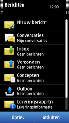 Nokia N8-00 - SMS - Handmatig instellen - Stap 4