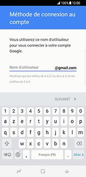 Samsung Galaxy S8 - Applications - Créer un compte - Étape 10