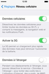 Apple iPhone 4 - Aller plus loin - Désactiver les données à l'étranger - Étape 5