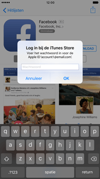 Apple Apple iPhone 6 Plus iOS 10 - Applicaties - Account instellen - Stap 26