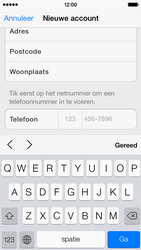 Apple iPhone 5c - Applicaties - Account aanmaken - Stap 23