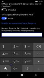 Microsoft Lumia 650 - SMS - configuration manuelle - Étape 7