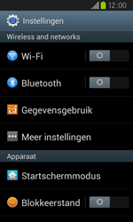 Samsung I9105P Galaxy S II Plus - WiFi - Handmatig instellen - Stap 4