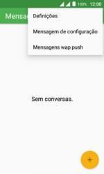 """Alcatel Pixi 4 (4"""") - SMS - Como configurar o centro de mensagens -  5"""