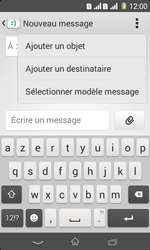 Sony Xpéria E1 Dual - Contact, Appels, SMS/MMS - Envoyer un MMS - Étape 6