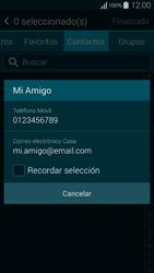 Samsung G850F Galaxy Alpha - Mensajería - Escribir y enviar un mensaje multimedia - Paso 7