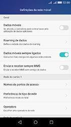Huawei Y6 - Internet no telemóvel - Como ativar os dados móveis -  5