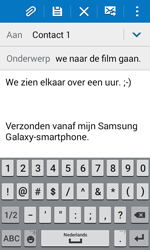 Samsung Galaxy J1 (J100H) - E-mail - Bericht met attachment versturen - Stap 10