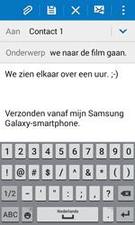 Samsung Galaxy J1 (SM-J100H) - E-mail - Hoe te versturen - Stap 10