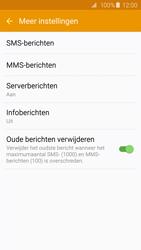Samsung Galaxy S6 - SMS - Handmatig instellen - Stap 7