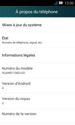 Huawei Y3 - Réseau - Installation de mises à jour - Étape 5