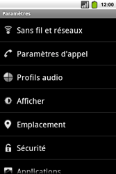 Alcatel OT-991 Smart - MMS - Configuration manuelle - Étape 4