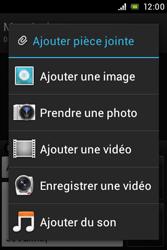 Sony ST23i Xperia Miro - MMS - envoi d'images - Étape 12