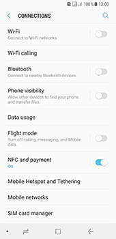 Samsung Galaxy A8 (2018) - Network - Enable 4G/LTE - Step 5