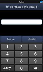 Samsung S8600 Wave 3 - Messagerie vocale - configuration manuelle - Étape 8