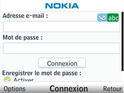 Nokia C3-00 - E-mail - Configuration manuelle - Étape 6