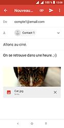 Alcatel 1 - E-mails - Envoyer un e-mail - Étape 15