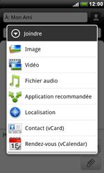 HTC S510e Desire S - MMS - Envoi d