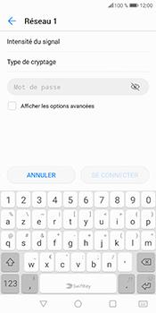 Huawei P Smart - Wifi - configuration manuelle - Étape 7