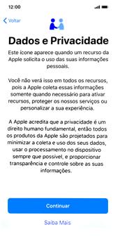 Apple iPhone X - iOS 12 - Primeiros passos - Como ativar seu aparelho - Etapa 9