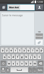 LG F70 - Contact, Appels, SMS/MMS - Envoyer un SMS - Étape 8