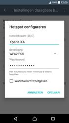 Sony Xperia XA - Android Nougat - WiFi - Mobiele hotspot instellen - Stap 8