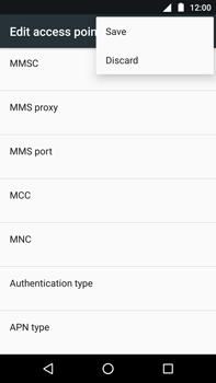 Motorola Moto Z Play - Internet - Manual configuration - Step 16