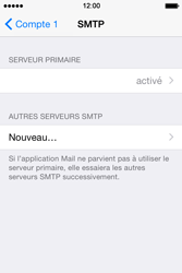 Apple iPhone 4s iOS 8 - E-mail - Configuration manuelle - Étape 17