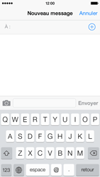 Apple iPhone 5c - Contact, Appels, SMS/MMS - Envoyer un SMS - Étape 4
