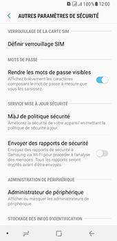 Samsung Galaxy A8 - Sécuriser votre mobile - Personnaliser le code PIN de votre carte SIM - Étape 6