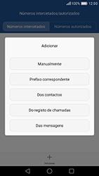 Huawei P9 - Chamadas - Bloquear chamadas de um número -  8