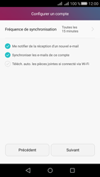 Huawei Huawei Y5 II - E-mail - Configurer l