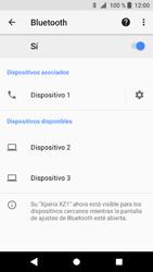 Sony Xperia XZ1 - Bluetooth - Conectar dispositivos a través de Bluetooth - Paso 9