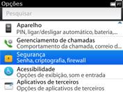 BlackBerry 9620 - Funções básicas - Como restaurar as configurações originais do seu aparelho - Etapa 4