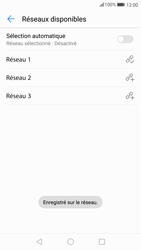 Huawei P10 - Android Oreo - Réseau - Sélection manuelle du réseau - Étape 11
