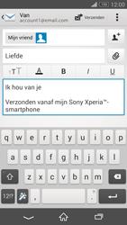 Sony D6603 Xperia Z3 - E-mail - e-mail versturen - Stap 9