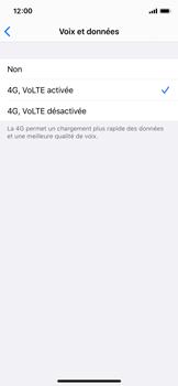 Apple iPhone X - iOS 13 - Réseau - activer 4G - Étape 7