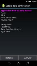 HTC Desire 320 - MMS - Configuration automatique - Étape 6