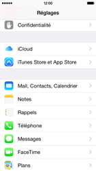 Apple iPhone 5c iOS 8 - E-mail - Configuration manuelle - Étape 3