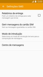 Samsung Galaxy S5 - SMS - Como configurar o centro de mensagens -  7