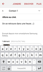 Samsung Galaxy J1 (2016) (J120) - E-mail - envoyer un e-mail - Étape 17