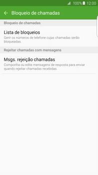 Samsung Galaxy S6 Edge + - Chamadas - Como bloquear chamadas de um número -  7