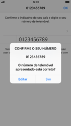 Apple iPhone 7 - iOS 12 - Aplicações - Como configurar o WhatsApp -  10