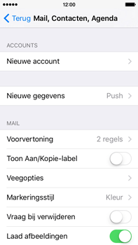 Apple iPhone 5c iOS 9 - E-mail - Handmatig instellen (yahoo) - Stap 4