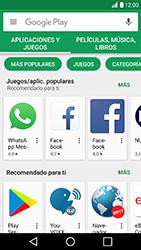 LG K10 (2017) - Aplicaciones - Descargar aplicaciones - Paso 3
